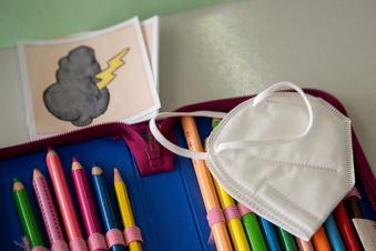 Dresdner Schulen: Maske auf oder Maske ab?