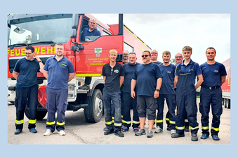 Meißen: Feuerwehren kehren aus Flutgebiet zurück