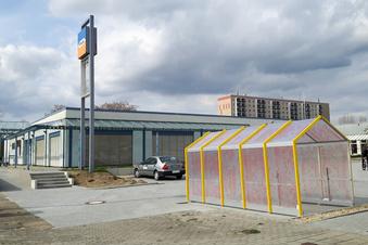 """Supermarkt in der einstigen """"Kühnichter Heide"""""""