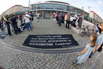 Dresdner wollen Pegida die Plätze nehmen