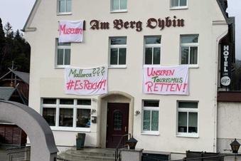 Protest der Oybiner Wirte geht weiter