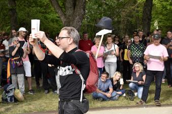 """Dresden: Der Protest der """"Corona-Rebellen"""""""