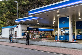 Zeugen sollen Tankstellen-Mord gesehen haben