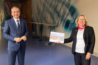 Görlitz wirbt für seinen Green Deal in Berlin