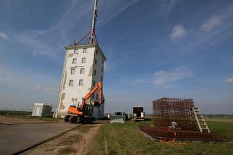 Harthaer Funkturm wird abgerissen