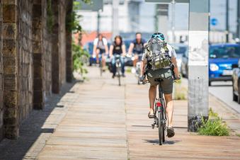 Wo Dresdner Radfahrern Gefahr droht