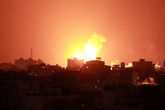 Israel stundenlang unter Raketenbeschuss