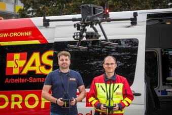 Dresdens erste Drohnenstaffel rettet Leben
