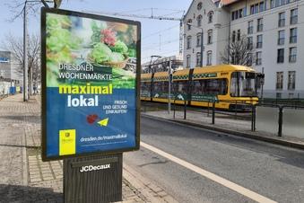 Warum ruft Dresden auf, Wochenmärkte zu besuchen?
