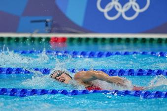 Dresdner Schwimmerin trotzt Rückschlag