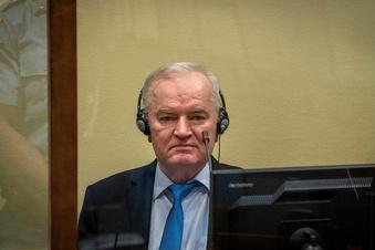 Lebenslange Haft für Mladic bestätigt