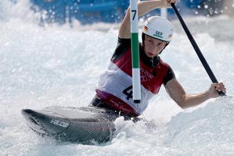 Olympia: Meißnerin Herzog paddelt zu Bronze