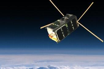 Satellit der TU Dresden funkt aus dem All