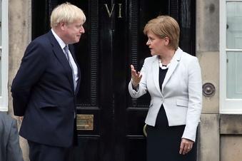 Johnson brüskiert Schottlands Regierungschefin