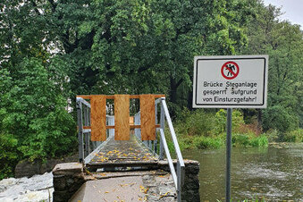Brücke bei Bauda endgültig gesperrt