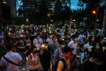 China drückt Gesetz für Hongkong durch