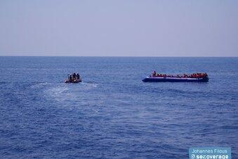 Mission Lifeline rettet 100 Menschen im Mittelmeer