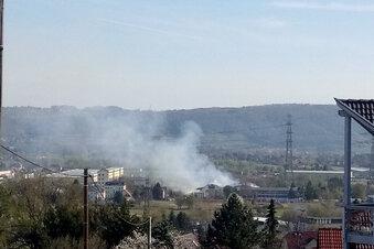 Nach Großbrand: Schlechte Luft in Dresden