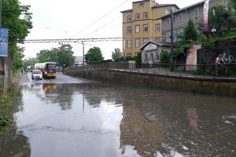 Alarm-Stadtplan: Was bei Starkregen in Dresden droht