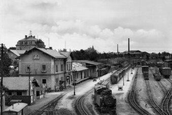 Als Wilsdruff ein eigenes Bahnnetz hatte