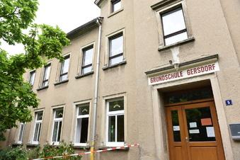 Grundschule Gersdorf: Sanierung geht voran