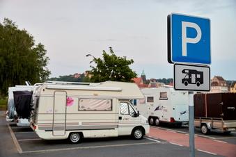 Pirna bittet Wohnmobilisten zur Kasse