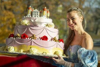 Aschenbrödels Torte für Schloss Moritzburg