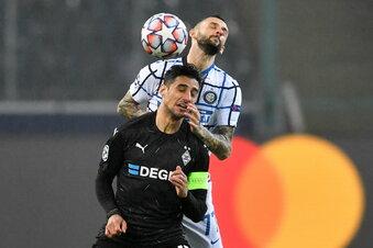 Gladbach verliert gegen Inter Mailand
