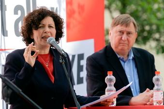 Linken-Chefin will CDU in die Opposition schicken
