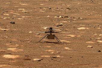 """Ingenuity"" fliegt über den Mars"