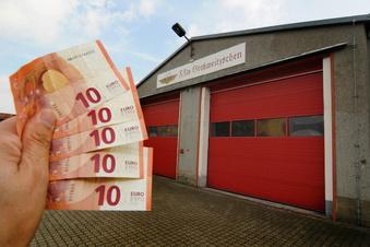 Großweitzschen: Weniger Geld für Feuerwehrleute