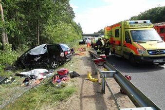 Nach Unfall auf A13 - 64-Jähriger erliegt Verletzungen