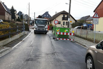 Lichtenberg: Straße bleibt länger gesperrt