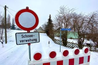 Flockdown! Schneewalze legt Lausitz lahm