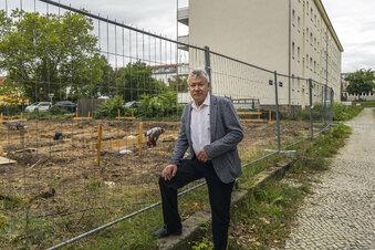 Baustart an der Riesaer Heinestraße