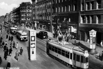 Wie die Prager Straße zur Einkaufsmeile wurde
