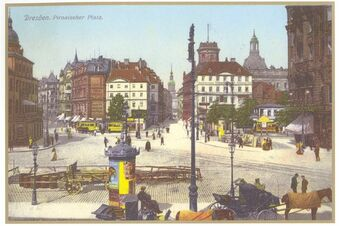 Zeitreise mit Postkarten