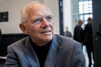 Schäuble wird Bundestagspräsident