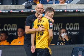 Dynamos Becker nach Roter Karte: Würde es wieder tun