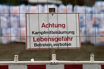 Fliegerbombe in Chemnitz entschärft