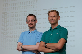 Dynamo steigt auf - sagen diese beiden Mathematiker