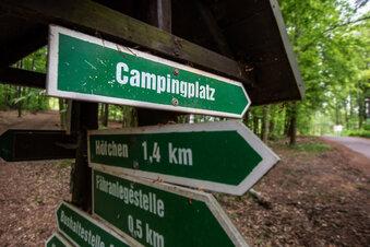Ansturm auf Campingplätze in Kriebstein