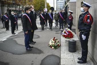 Frankreich erinnert an Pariser Anschläge