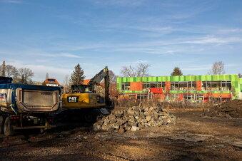 Altlasten weichen Freitals Kita-Neubau