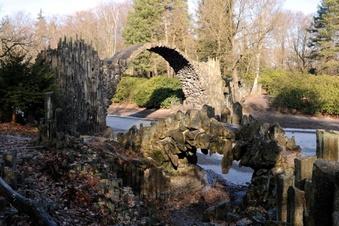 Sensationsfund an Rakotzbrücke