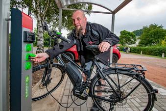 Damit das Fahrrad trocken bleibt