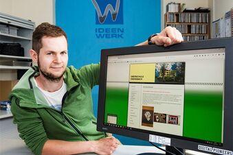 Ehemaliger Schüler pflegt die Internetseite seiner Schule