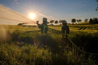 Sommerstimmung bei der Feuerwehr