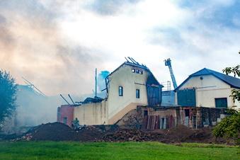 Weihnachtswelt Strocken in Trümmern