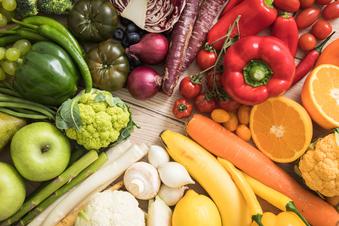 Die richtige Ernährung verlangsamt das Altern